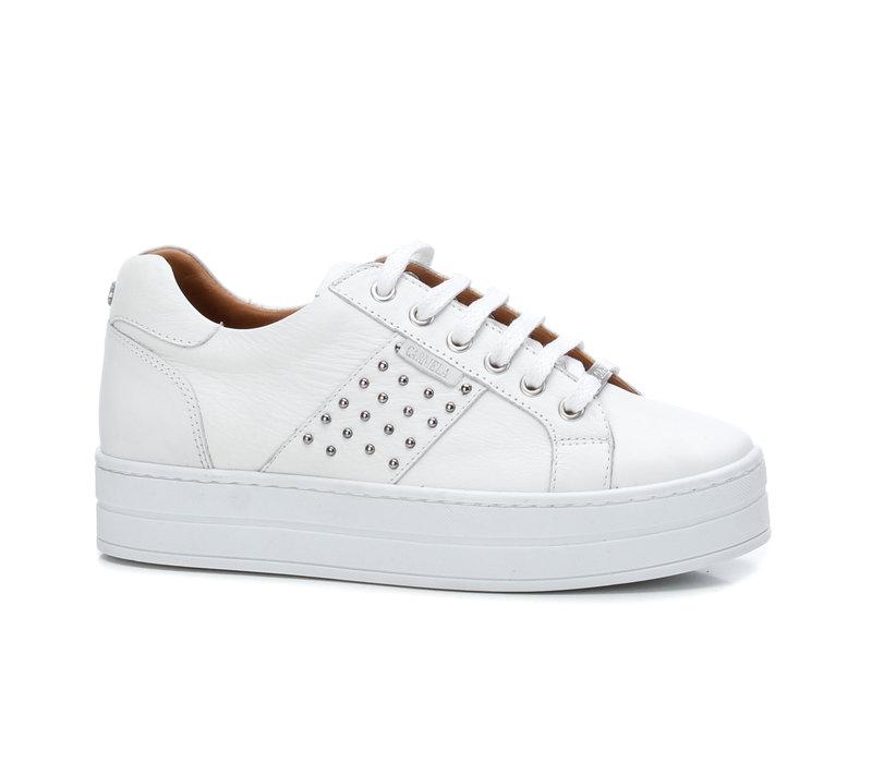 Carmela 67478 White platform Sneaker