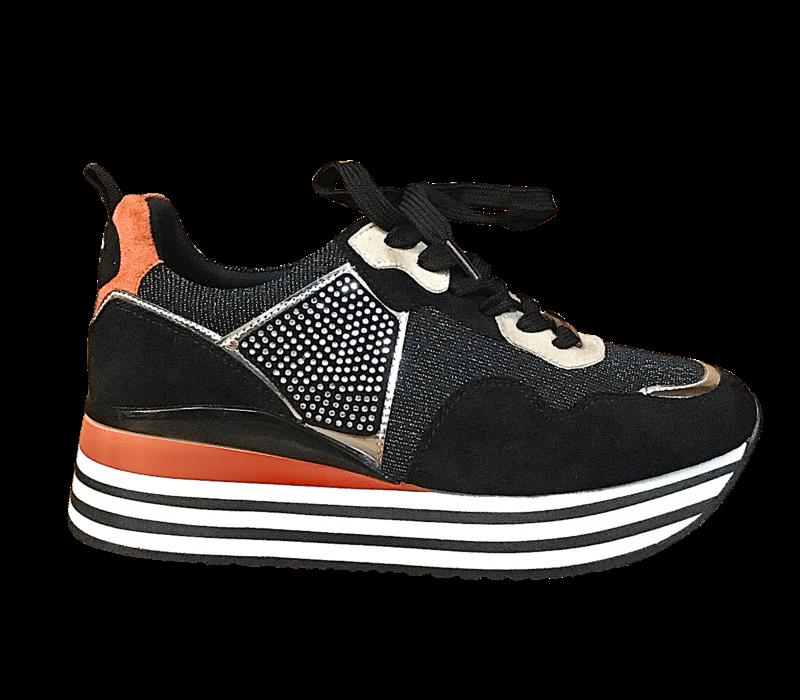 L&P SHORT OREO Platform Sneaker