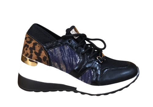 Lloyd & Pryce L&P HAMPSEY Black safari Sneaker