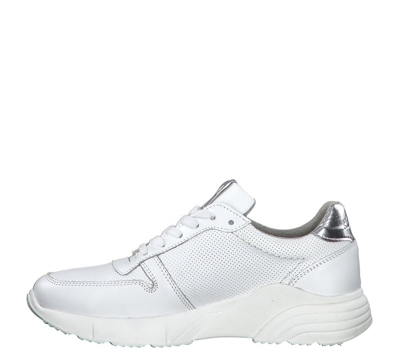 S.Oliver 23667 White Leather Sneaker