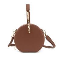 Gessy G2002 Tan circular Bag