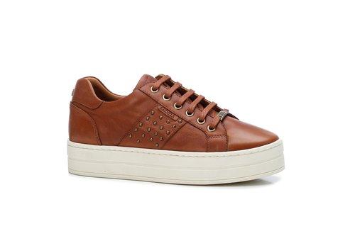 Carmela Carmela 67478 Tan Platform Sneaker