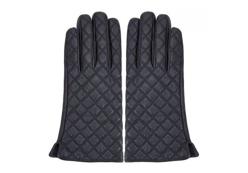 Peach Accessories Peach HA1918 Quilted Leather Gloves