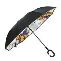 Peach F917 Tropical Garden Umbrella