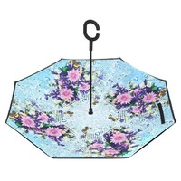Peach F917 Abbey House Gardens Umbrella