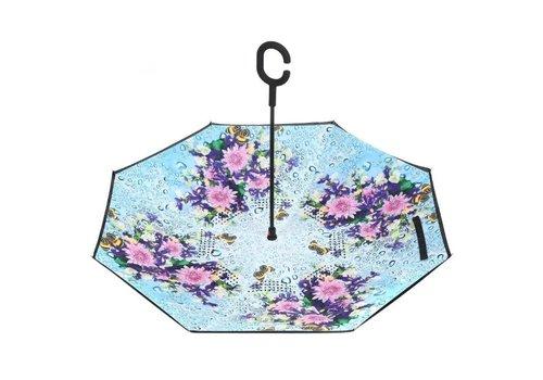 Umbrellas Peach F917 Abbey House Gardens Umbrella