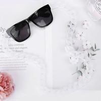 Peach SC001 White Chunks Glasses chain