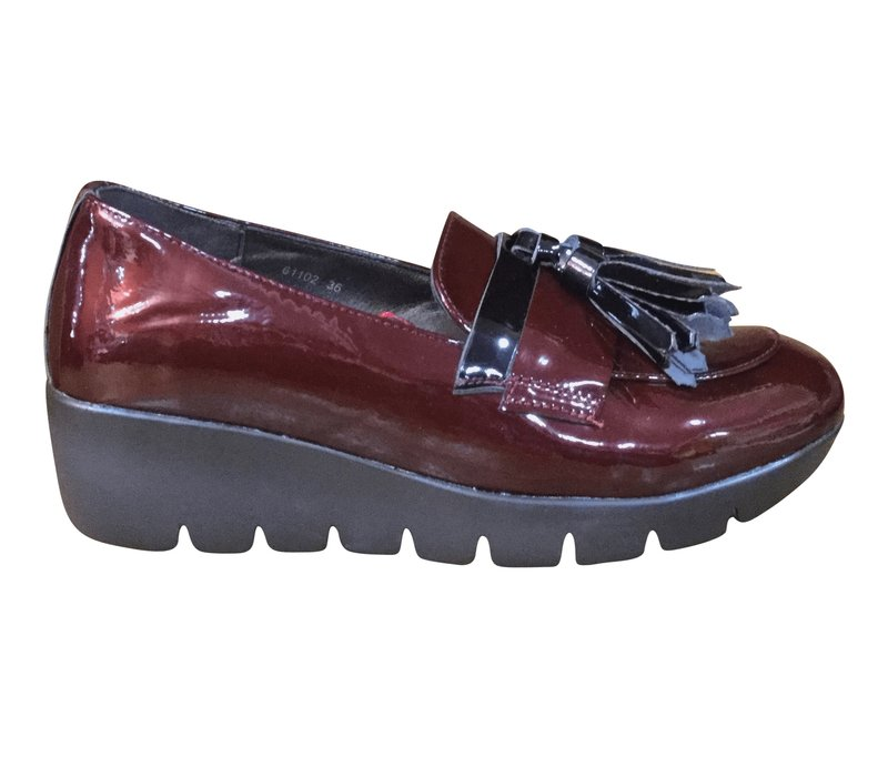 REDZ 61102 Wine patent Loafer