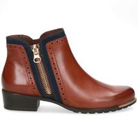 Caprice 25403 Cognac/Navy A/Boot