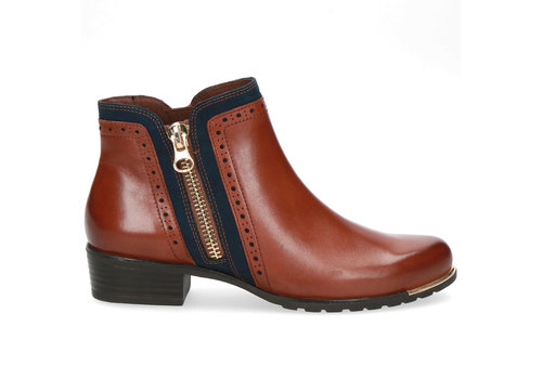 Caprice Boots Caprice 25403 Cognac/Navy A/Boot