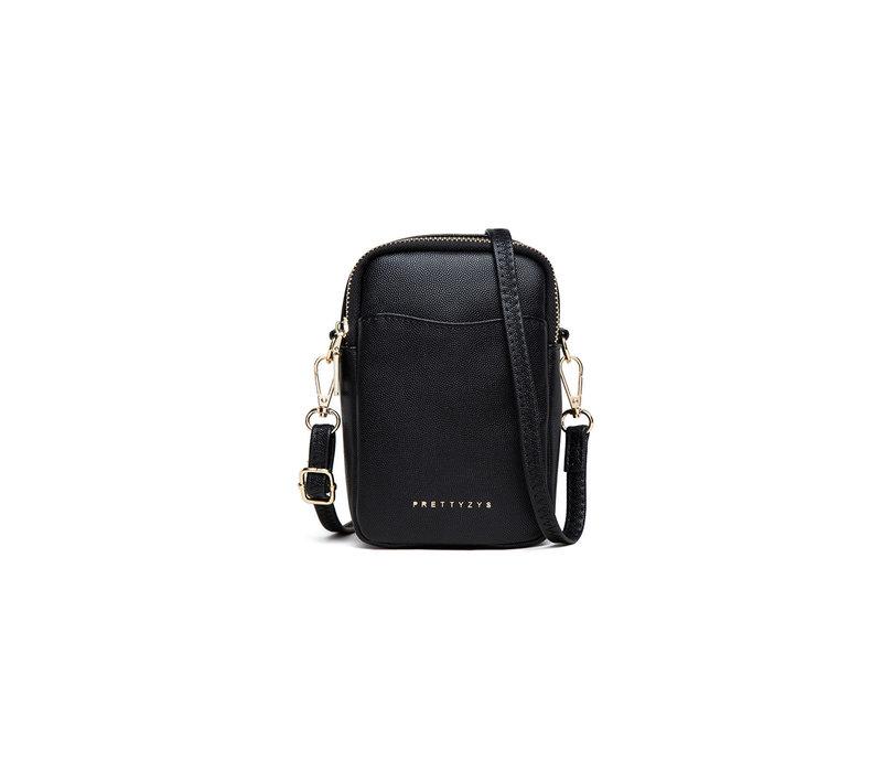 Gessy L033 Small Black crossbody Bag