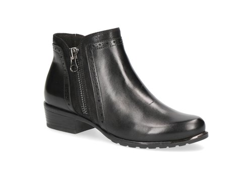 Caprice Boots Caprice 25403 Black Leather A/Boots