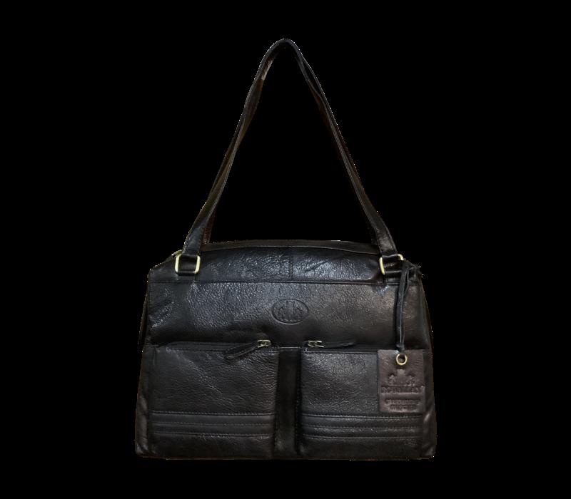 Rowallan 1838/01 Black Ladies Work Bag