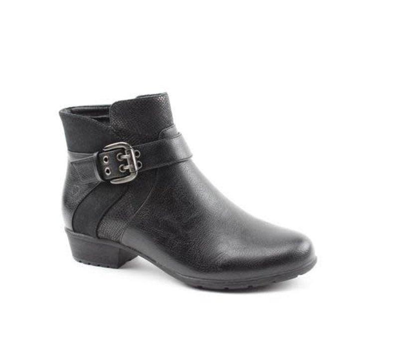Heavenly Feet ELOISE Black A/Boot