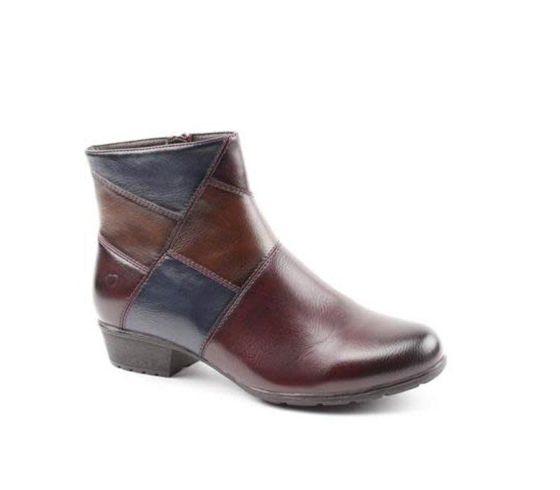Heavenly Feet SUZIE Burgundy A/Boot