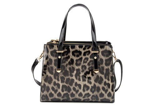 GESSY GESSY L4802LP Black/Black Leo Patent Bag