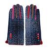 Peach Accessories Peach   HA1937 Navy multi gloves