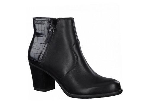 Tamaris A/W Tamaris 25338 Black/Croco A/Boots