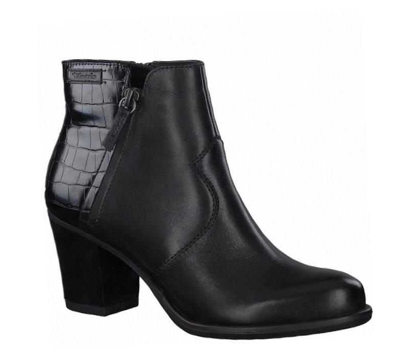 Tamaris 25338 Black/Croco A/Boots