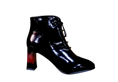 Milly & Co. Milly & Co. ELOISE Black patent A/Boot