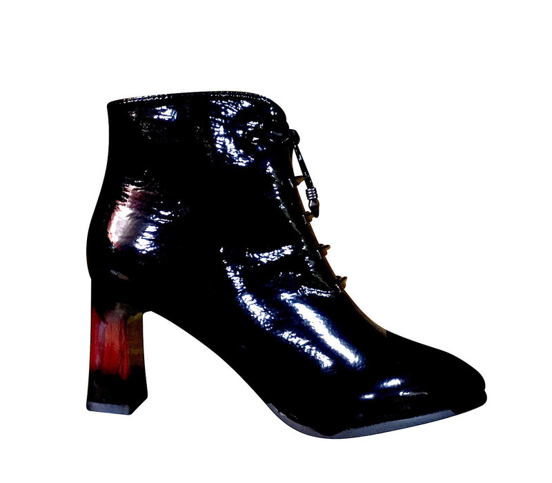 Milly & Co. ELOISE Black patent A/Boot