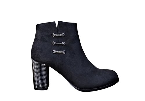 Milly & Co. Milly & Co. ELLA Black Suede A/Boot