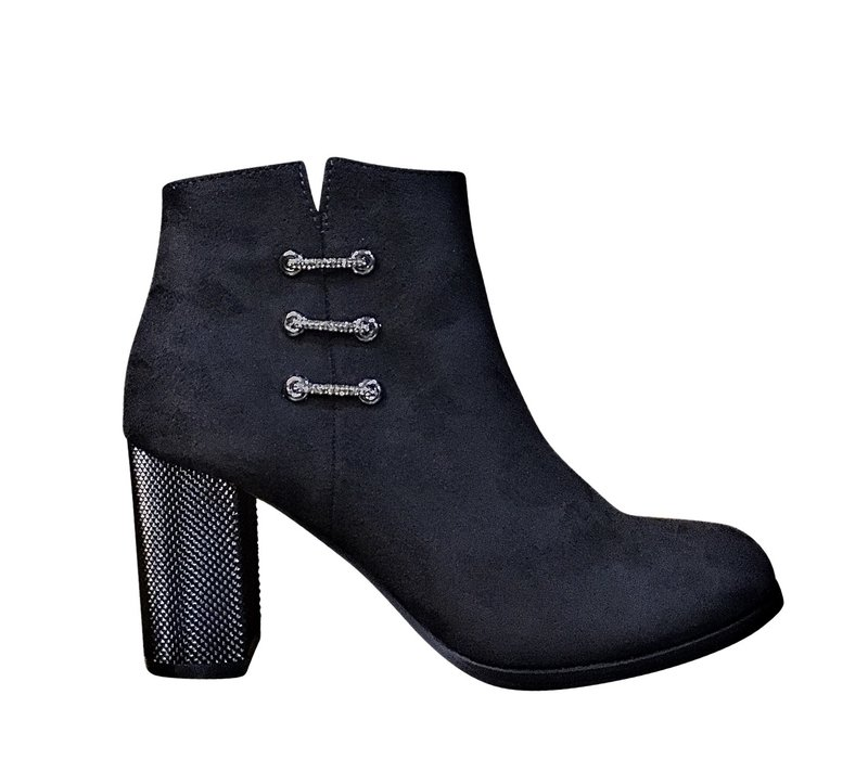 Milly & Co. ELLA Black Suede A/Boot