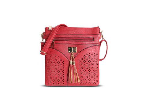 GESSY GESSY 1113 Cross body Bag in Red