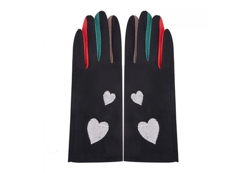Peach Accessories Peach HA1911 Gloves with Hearts