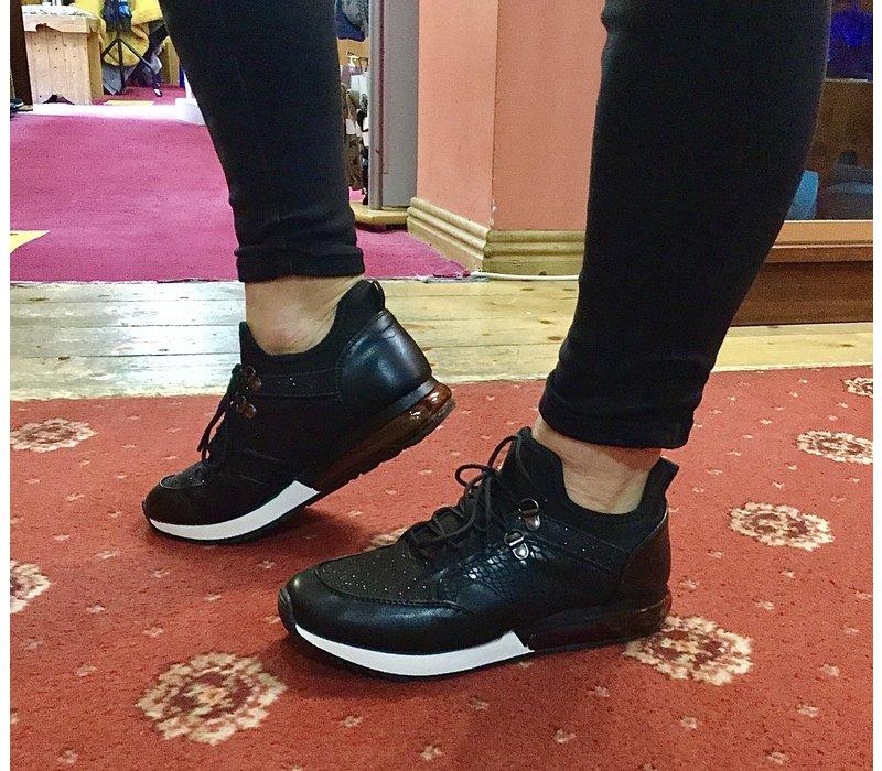 Sprox 513663 Black glitter Sneaker