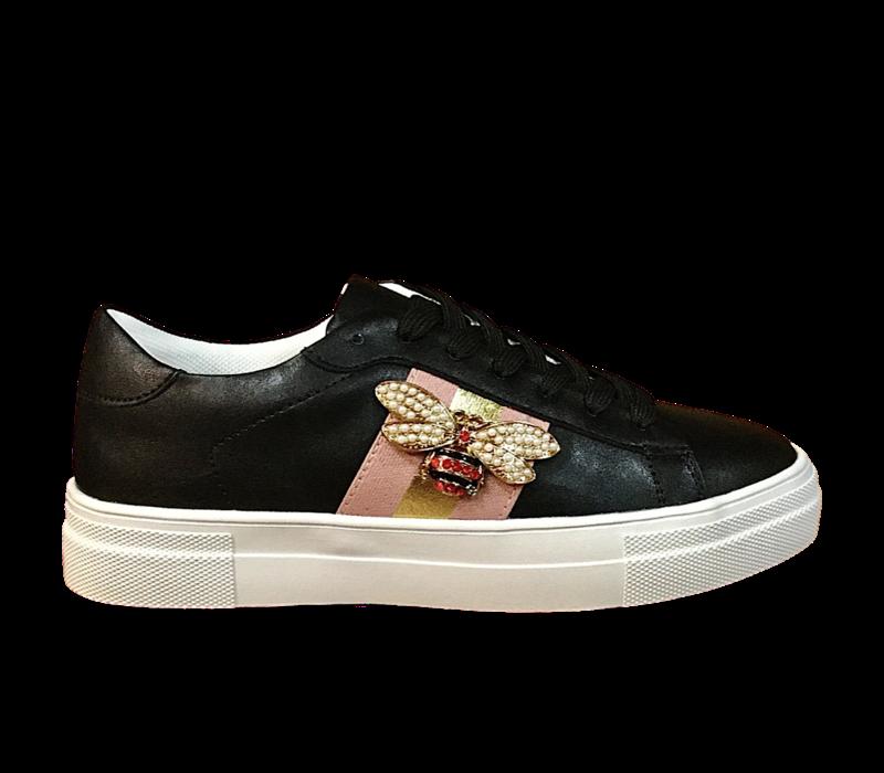 REDZ 9768-12 Bee Sneakers in Black