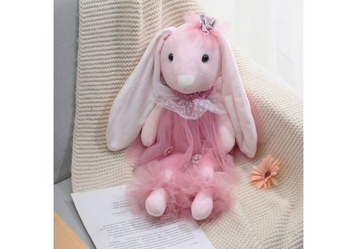 Peach Accessories Peach B38 Pink Lily Bunny
