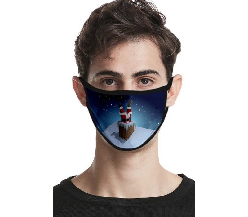 GESSY Men's CHRISTMAS Face Mask
