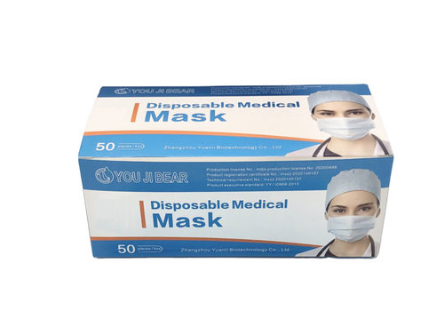 GESSY Medical face mask 3ply Pack of 50