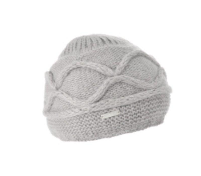 Seeberger 010455 Light Grey Angora Hat