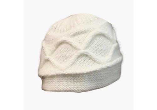 Seeberger Seeberger 010455 /18 Cream Angora Hat