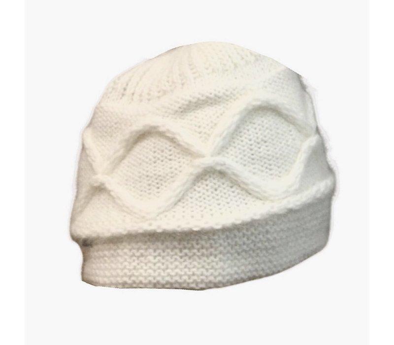 Seeberger 010455 /18 Cream Angora Hat
