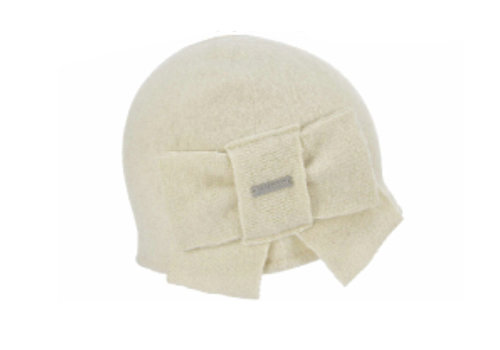 Seeberger Seeberger 018527/18 Off-White Wool Hat