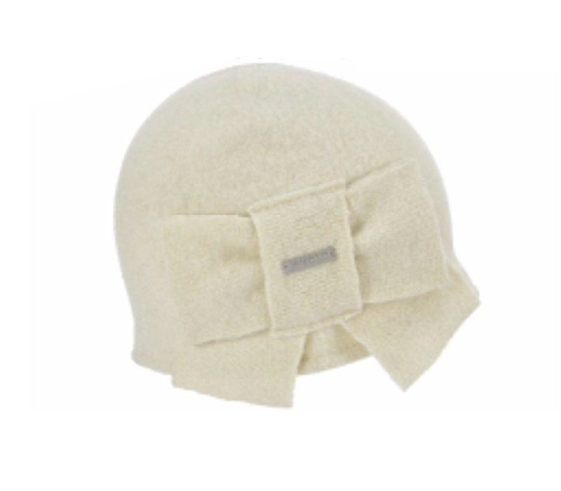 Seeberger 018527/18 Off-White Wool Hat