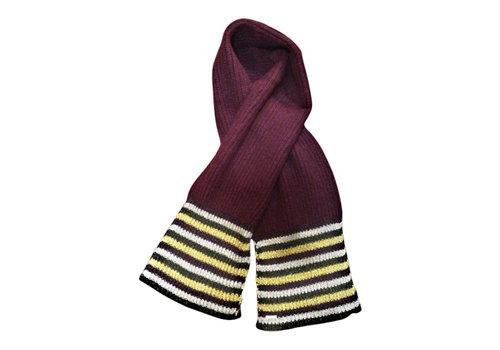 Seeberger Seeberger 018274-23 wine wool scarf