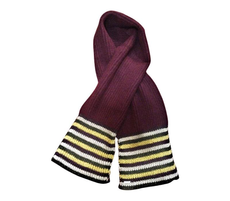 Seeberger 018274-23 wine wool scarf