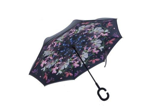 Umbrellas Peach P15 Flower Fairy upside down Umbrella