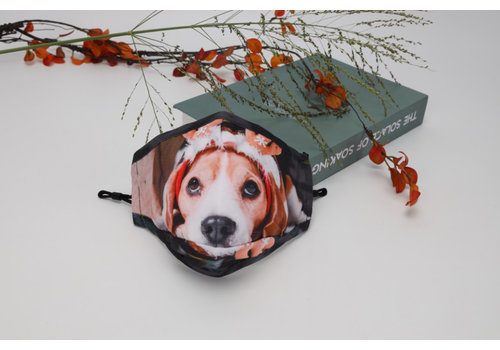 GESSY Gessy FM141 Christmas Puppy face mask