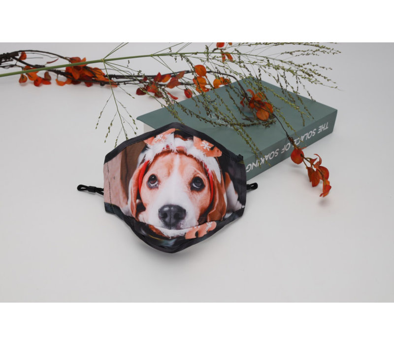 Gessy FM141 Christmas Puppy face mask
