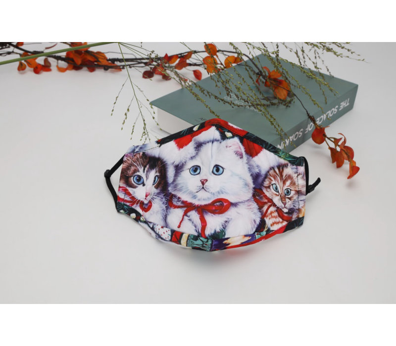 GESSY FM142 Little Kittens Face Mask