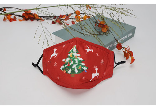 GESSY GESSY FM140 Christmas Tree Face Mask