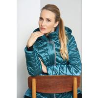 Junge 2070-68-004 Teal 3/4 length Coat