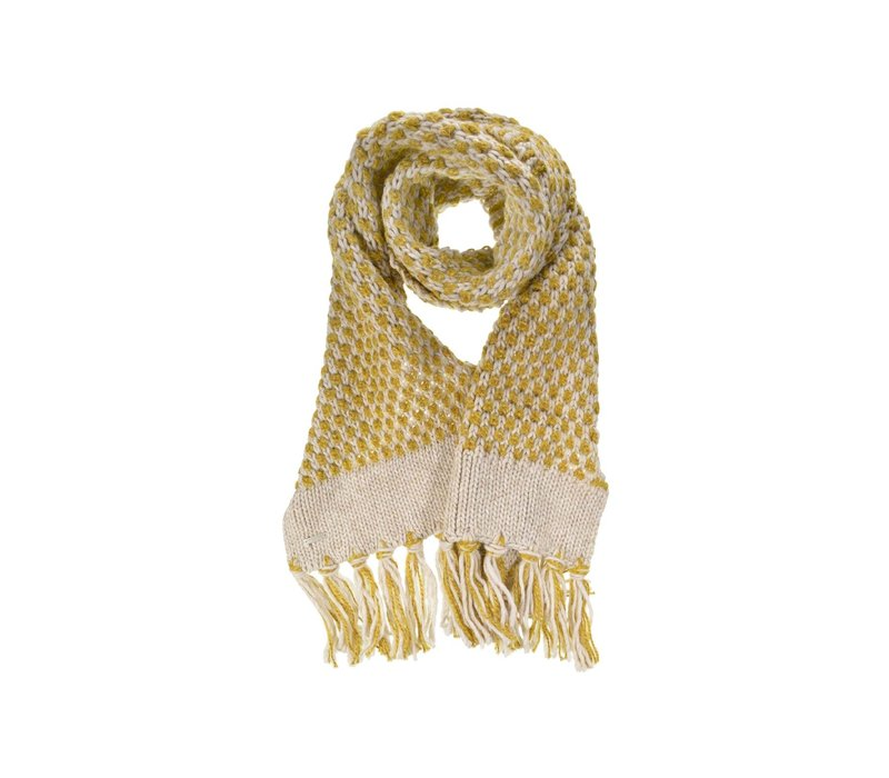 Seeberger 018508-9442 Honeycomb Scarf