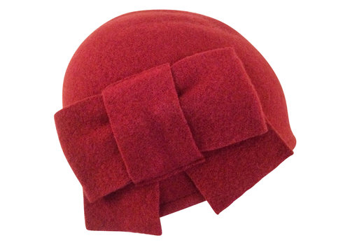 Seeberger Seeberger 011057-26 Berry Wool Hat