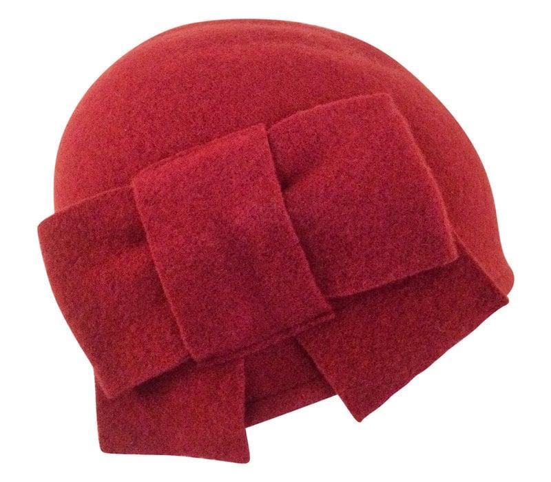 Seeberger 011057-26 Berry Wool Hat